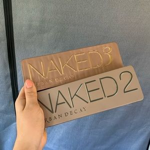 Urban Decay Naked 2 and Naked 3 Eyehadow Palette